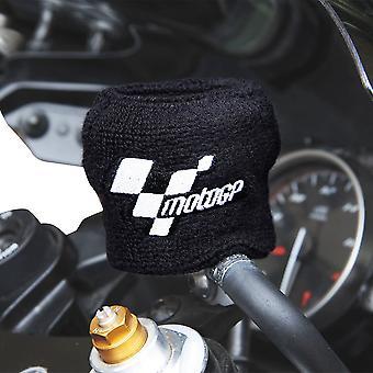 MotoGP Branded Motorcycle Brake Reservoir Shroud Cover Black