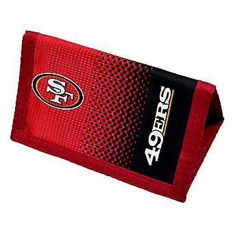 San Francisco 49ERS Official NFL Fade Crest Design Wallet