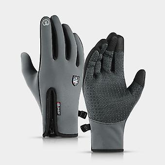 Gloves Waterproof, Fleece, Thermal Glove, Snowboard, Snowmobile, Men Women
