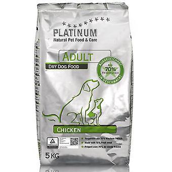 Platina naturlig voksen kylling (hunder, mat, tror jeg)