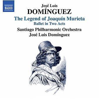 Dominguez, J. / Josi Luis Dominguez - Jose Luis Dominguez: Legend of Joaquin Murieta [CD] USA import