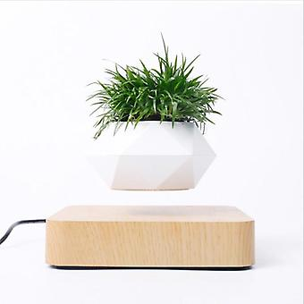Air Bonsai Rotating Flower Pot Planters Magnetic Floating Pot For Home Decor
