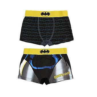2-Pack Boxer Unterwäsche Batman 9/10 Jahre