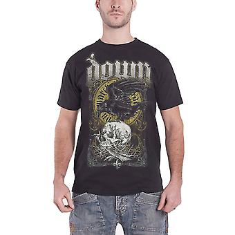 Ned Mens T skjorte Raven Skull sumpen Svartedauden design offisielle