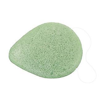 Konjac sponge, Aloe Vera style (green) 1 unit