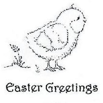 Kreative uttrykk Chirpy Chick 2 precut Frimerker