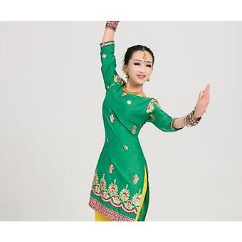 Bomull India Coat Punjabi tradisjonell kvinne