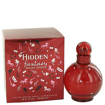 Escondidos Fantasy Eau De Parfum Spray por Britney Spears 3,4 oz Eau De Parfum Spray