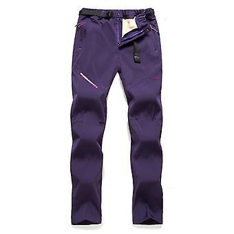 Pantalon imperméable à l'eau femme hivernal chaud