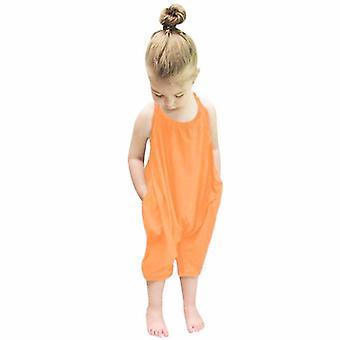 Baba szíj nadrág overall egyszínű, gyerekek heveder kezeslábas nadrág strand ruhák