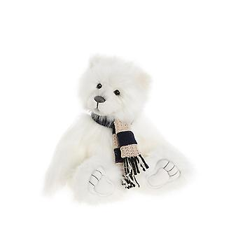 """Charlie Bears Snowbaby Polar Bear 15"""" - Exclusive Secret Collection Plush Teddy Bear"""