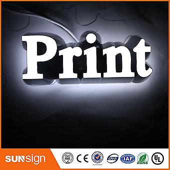 3d Lighting Acrylic Mini Led Channel Letter Lights Sign Bending Making Machine