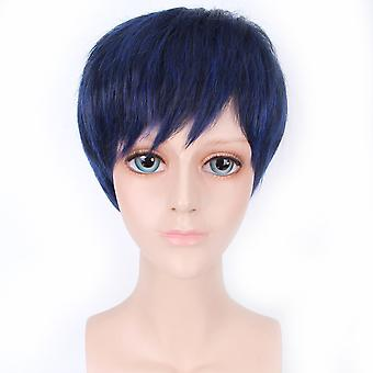 Kuroko & s Basketball Daikinime Perruques Aomine Daik Out Curl Perruques de cheveux synthétiques