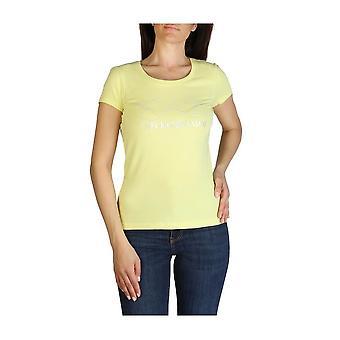 EA7 - Vaatteet - T-paidat - 3GTT18_TJ12Z_1643 - Naiset - Keltainen - XS