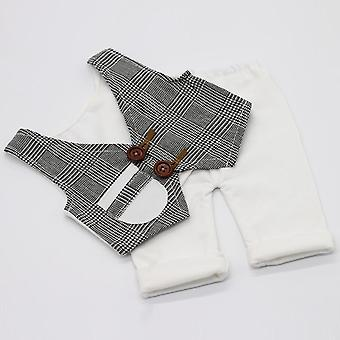Newborn Photography Costume Props, Baby Vest + Pants Clothes For Photo Shoot,