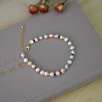 Pearl Anklet Women Fashion Personality Handmade