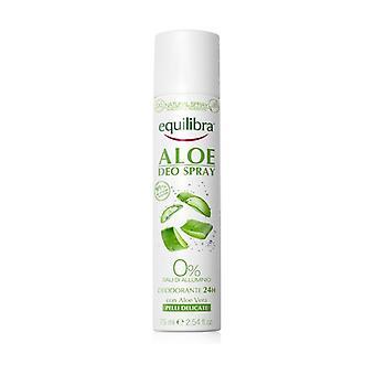 Aloe vera spray deodorant 75 ml
