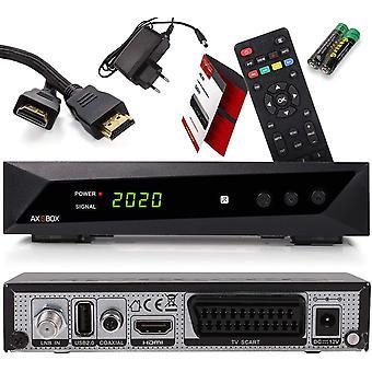 FengChun Opticum SBOX HDTV Sat-Receiver, Mediaplayer, 1080P Full-HD Digital Mini TV-Receiver für