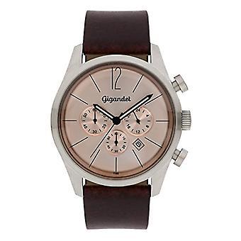 Gigandet G13-004 - Men's watch, leather strap, color: brown