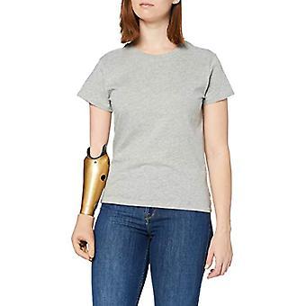 Lee Slim Fit Tee T-Shirt, Apple Grey, XS Woman
