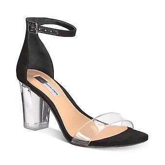INC International Concepts Naisten Kivah Clear Block Kantapää Kaksiosaiset sandaalit
