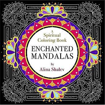 Lumottu mandalas-hengellinen väritys kirja 9781781807880