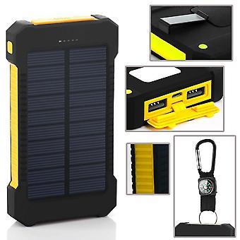 أضواء التخييم شاحن الطاقة الشمسية