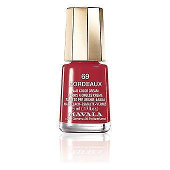 Nail polish Nail Color Mavala 69-bordeaux (5 ml)