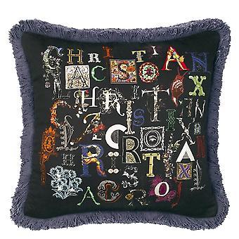 Christian Lacroix Do You Speak Lacroix Cushion Multi