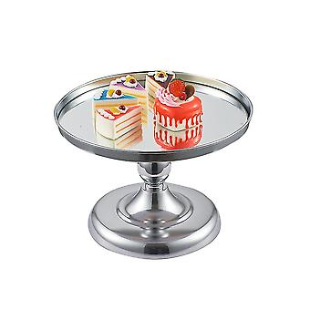Silver 21x21x14cm round cake stands, metal dessert cupcake pastry candy display for wedding, event, birthday party homi4329