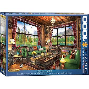 Eurographics The Cozy Cabin Jigsaw Puzzle (1000 Pièces)