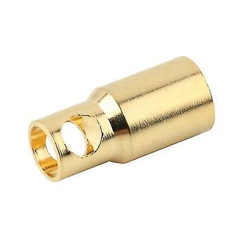 Nieuwe 6.0 vrouwelijke gouden kogel banaan plug connectoren rc batterij elektronische haak