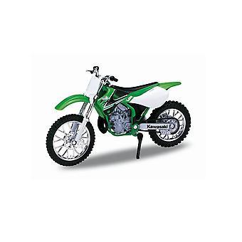 Kawasaki KX 250 (2002) Diecast modell motorcykel