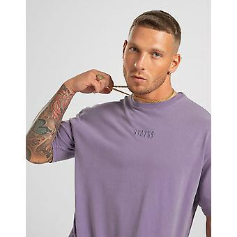 New STATUS Men's Shade Short Sleeve T-Shirt from JD Outlet Purple