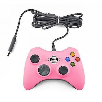 Xbox 360 -ohjain, langallinen peliohjaintietokoneen peliohjain, yhteensopiva Microsoft Xbox 360:n ja