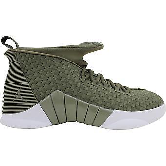 Nike Air Jordan XV Olivo Medio/Vela AO2568-200 Hombres's