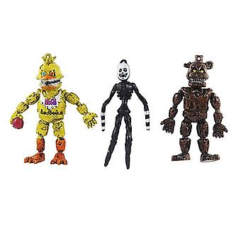 6PCS Mini Five Nights At Freddy's Action Figures Toy