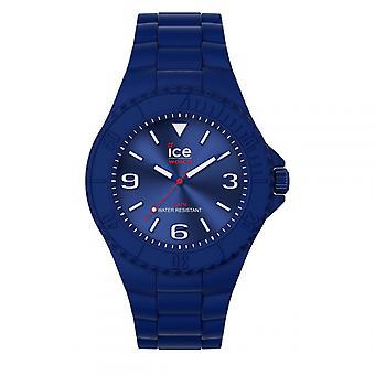 Mixed Watch Ice Watch Horloges ICE generatie - Blauw rood - Medium - 3H 019158 - Blauwe Siliconen Band