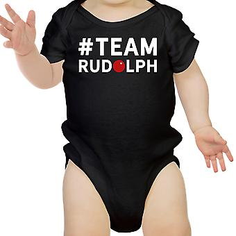 #Team Rudolph Baby Bodysuit Christmas Infant Bodysuit Holiday Gift