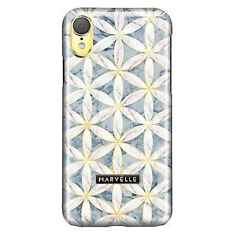 iPhone XR Marvêlle Magnetisk Skall Golden Blossom