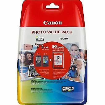 Toner inkjet cartridges 5222b013 540/541 printhead multi pack  8ml  pack qty 2