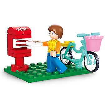 16 stk / sett for Lego Girl Mia Olivia Emma Andrea Martina Stephanie feiring montere karakter konstruksjon leker
