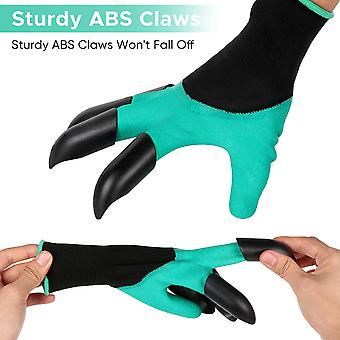 Garden Gloves  With Claws 1 Pair Of Gardening Work Gloves For Men Women Garden Genie Gloves For Digging And Planting