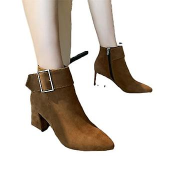 Martins Boot Hiver New Chunky Heel Heel Ankle Boot