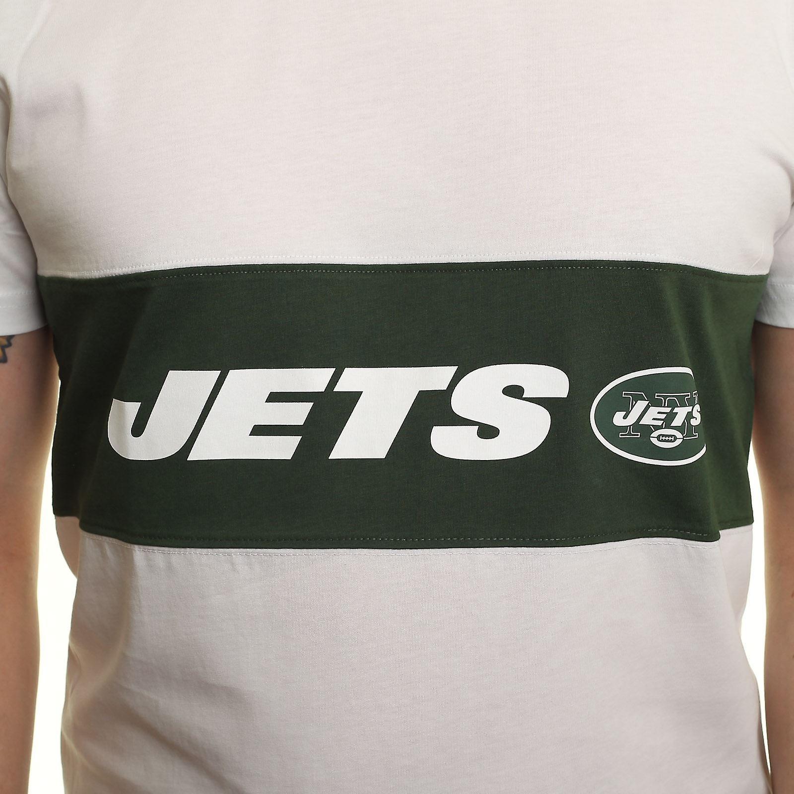 New Era Border Edge Panel T-Shirt ~ New York Jets
