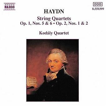 J. Haydn - Haydn: String Quartets, Op. 1, Nos. 0 & 6, Op. 2, Nos. 1 & 2 [CD] USA import