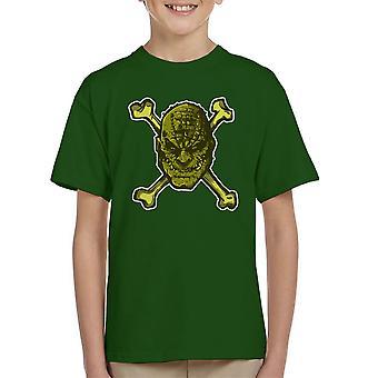 Croc Bones Supervillain Kid's T-Shirt