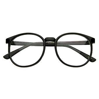 复古灵感圆圆眼镜透明镜头角边缘 P-3 眼镜