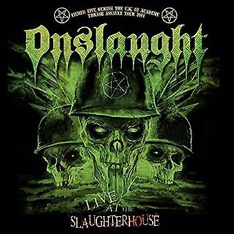 Onslaught - Live at teurastamo [CD] USA-tuonti