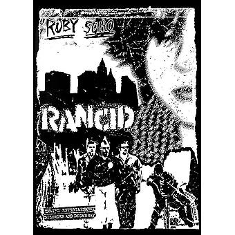 Ranzige Ruby Soho Poster Poster afdrukken